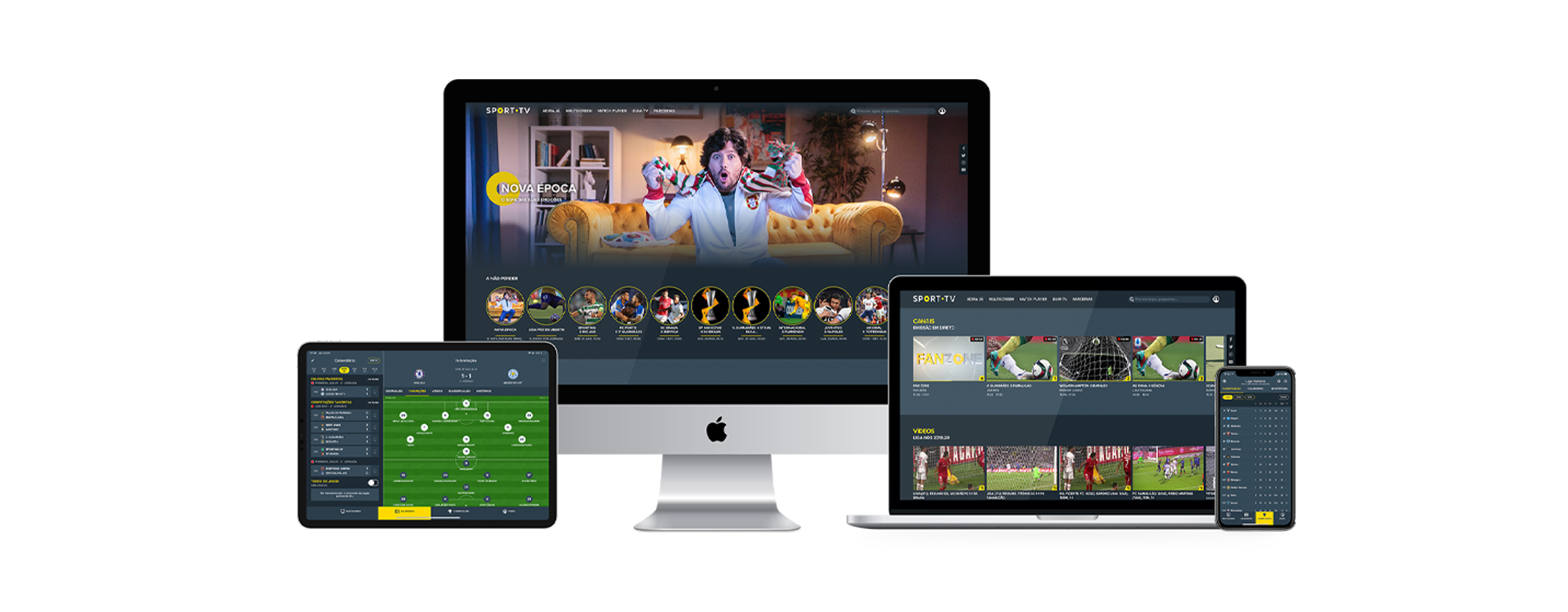 Interactive Live Formats for sports