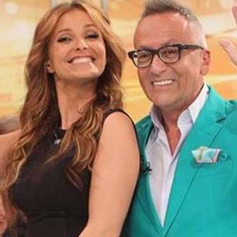 Cristina Ferreira and Manuel Luís Goucha